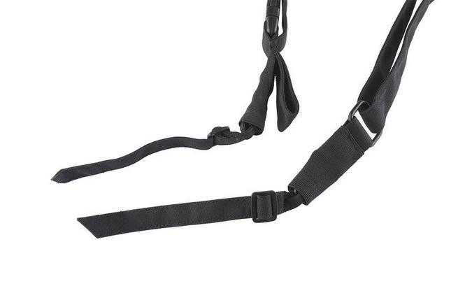 3-точечный ремень оружейный P3 - black [Primal Gear] (для страйкбола), фото 2