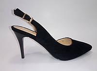 Женские летние босоножки на каблуке ТМ Sopra, фото 1