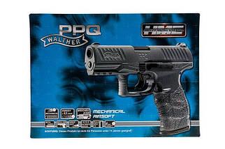 Страйкбольный пистолет Walther PPQ HME - Metal Gray [Umarex] (для страйкбола), фото 3