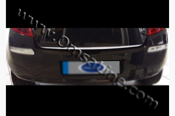 Кромка багажника (нерж.) Renault Clio и Symbol 2006-2009 гг.
