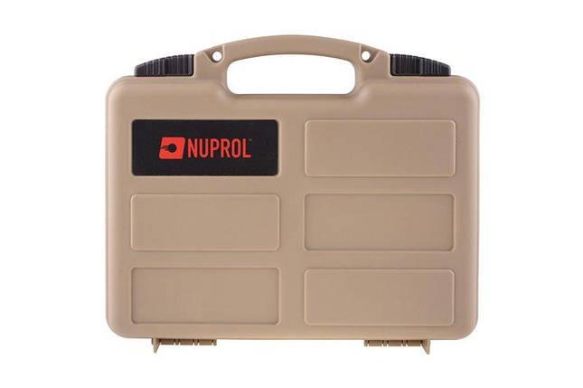 Walizka na pistolet Nuprol pistol case PNP - tan [Nuprol] (для страйкбола), фото 2