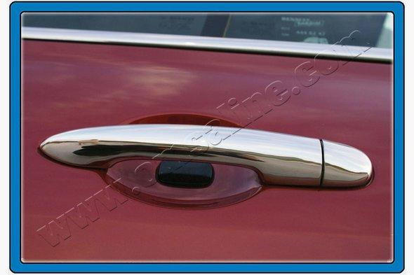 Накладки на ручки (нерж.) Renault Clio и Symbol 2006-2009 гг.