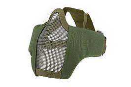 Маска защитная Stalker Evo Steel OD – Olive [Ultimate Tactical] (для страйкбола)