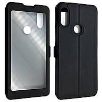 Чехол-книжка DK-Case кожа с пластиком Flip Cover Magnetic для Xiaomi Redmi 7 (black)