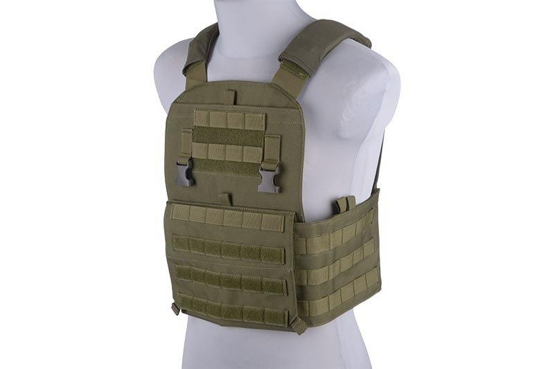 Жилет тактический (разгрузочный) типа Plate Carrier - olive [GFC Tactical] (для страйкбола)