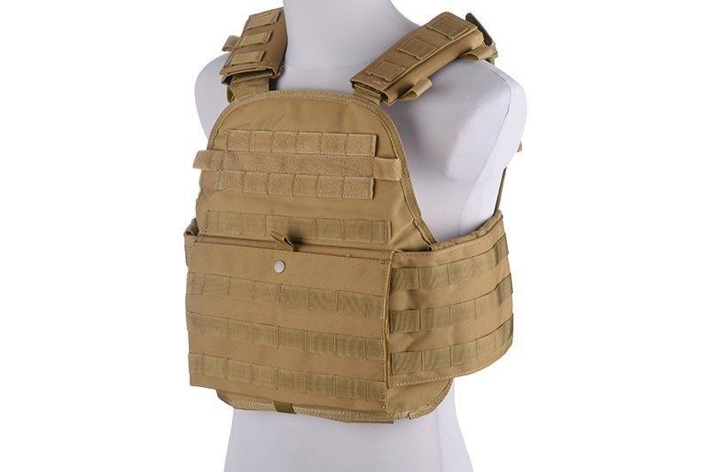 Жилет тактический (разгрузочный) типа Armor Plate Carrier - tan [GFC Tactical] (для страйкбола)