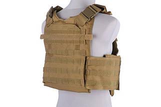 Жилет тактический (разгрузочный) типа Armor Plate Carrier - tan [GFC Tactical] (для страйкбола), фото 2