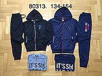 Трикотажный костюм 3 в 1 для мальчика оптом, Grace, 134-164 см,  № B80313, фото 1