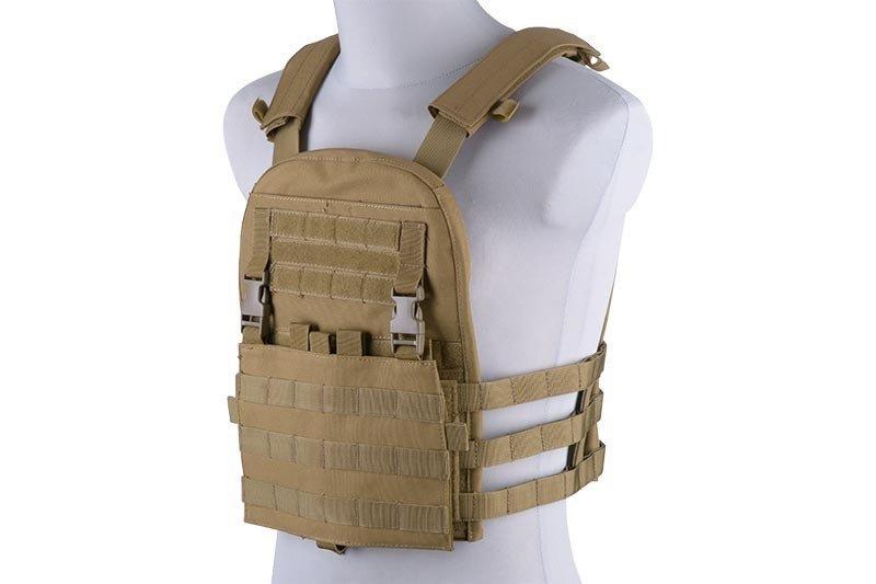 Разгрузка типа plate carrier z odpinanym panelem - tan [GFC Tactical] (для страйкбола)