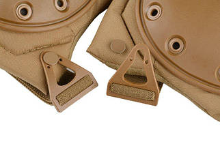 Наколенники AltaFLEX GEL - coyote brown [Alta Industries] (для страйкбола), фото 3