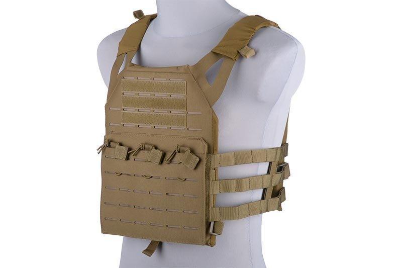 Жилет тактический (разгрузочный) типа Jump Laser-Cut - tan [GFC Tactical] (для страйкбола)