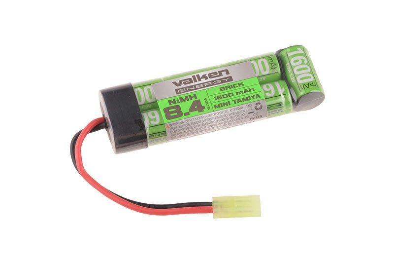 Аккумулятор NiMH 8,4V 1600mAh - Flat Brick Mini [Valken]