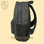 Рюкзак городской, спортивный серый, фото 3