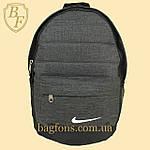 Рюкзак городской, спортивный серый, фото 2