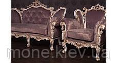 """Комплект м'яких меблів у стилі Бароко """"Ізабелла"""", фото 3"""