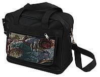 Раскладная хозяйственная сумка Wallaby 20711, черный