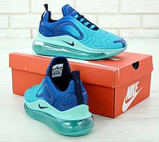 Женские кроссовки Nike Air Max 720 Light Blue, фото 3