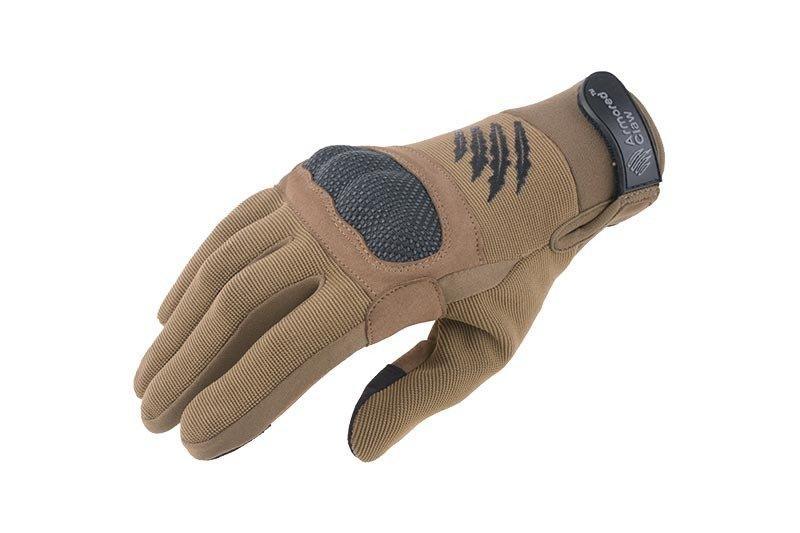 Тактические перчатки Armored Claw Shield - tan [Armored Claw] (для страйкбола)