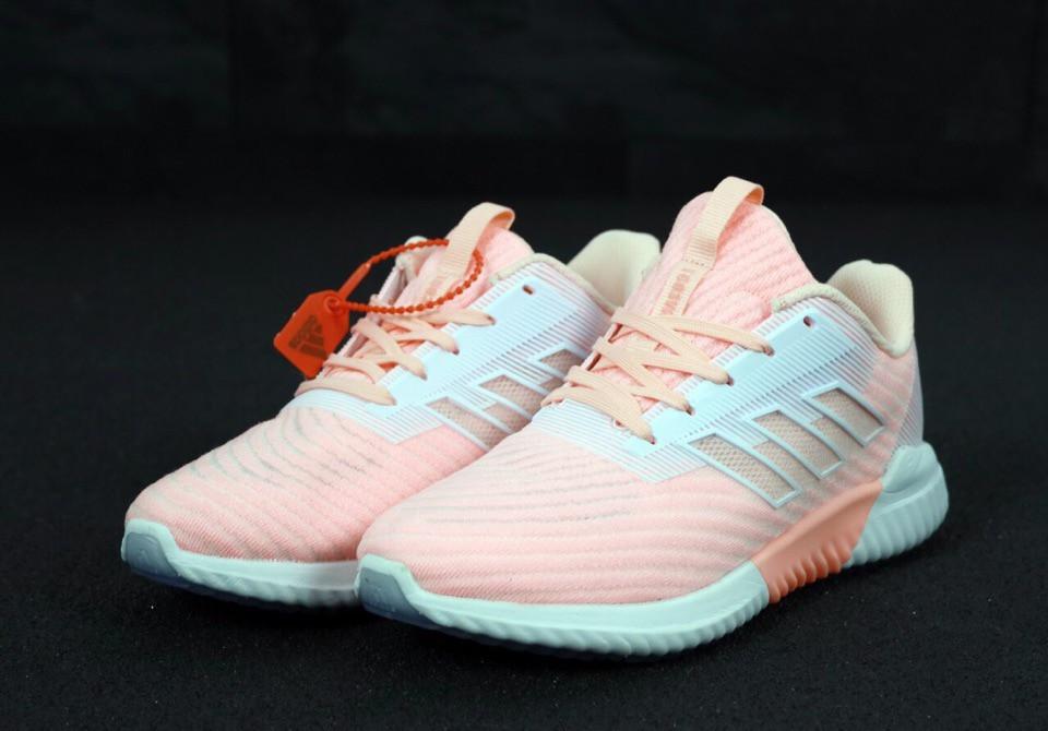 Женские кроссовки adidas Climacool (Premium-class) розовые
