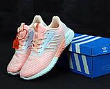Женские кроссовки adidas Climacool (Premium-class) розовые, фото 2