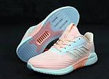 Женские кроссовки adidas Climacool (Premium-class) розовые, фото 5