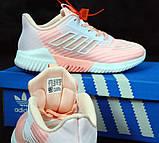 Женские кроссовки adidas Climacool (Premium-class) розовые, фото 3