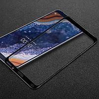 Защитное стекло для Nokia 9 PureView Full Сover черный 0,3 мм в упаковке