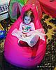 Кресло Мешок, бескаркасное кресло Груша ХХЛ, салатовый, фото 2