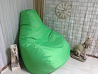Кресло Мешок, бескаркасное кресло Груша ХХЛ, салатовый