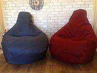 Кресло Мешок, бескаркасное кресло Груша ХХЛ, микророгожка