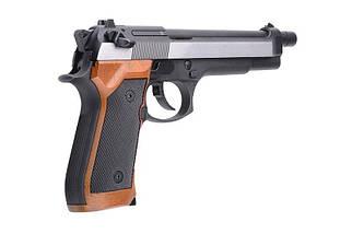 Страйкбольный пистолет M-92 версия L [WE] (для страйкбола), фото 3