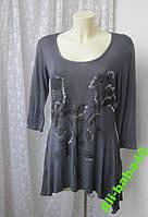 Платье женское туника легкая вискоза декор бренд London р.44-48