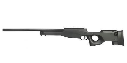 Страйкбольная винтовка снайперская Warrior I - black [WELL] (для страйкбола)