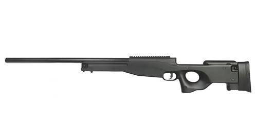 Страйкбольная винтовка снайперская Warrior I - black [WELL] (для страйкбола), фото 2