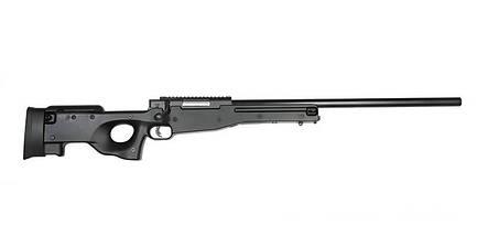 Страйкбольная винтовка снайперская Warrior I - black [WELL] (для страйкбола), фото 3