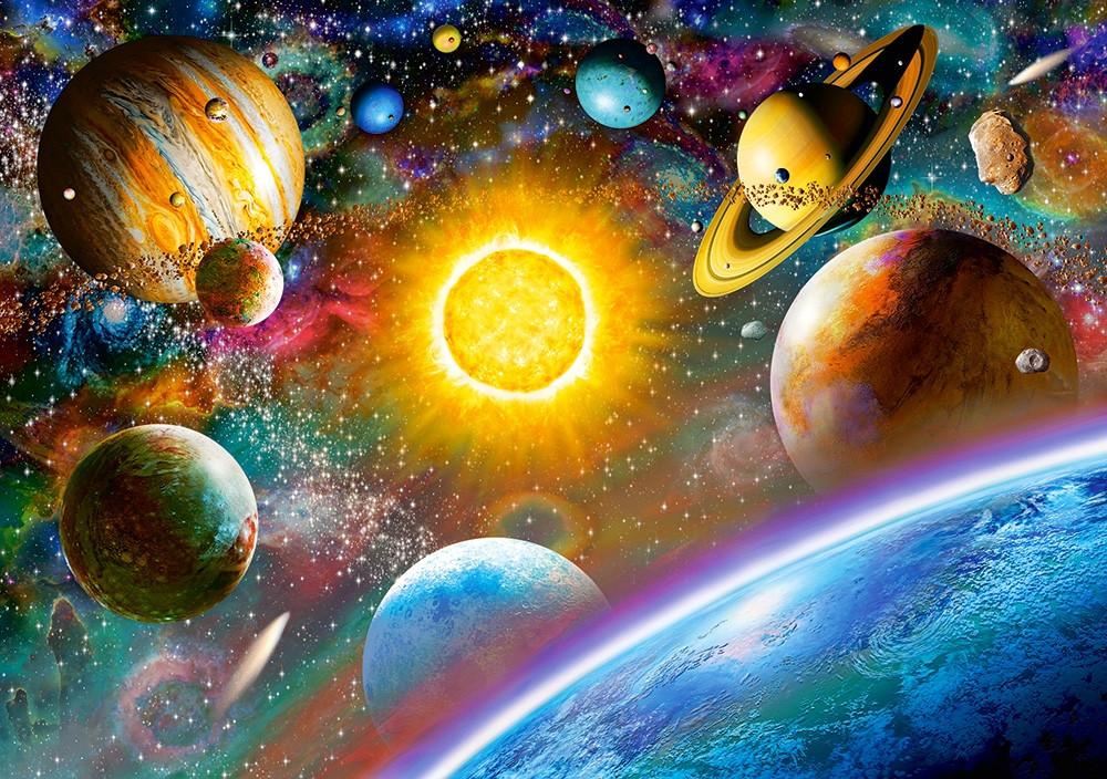 Пазлы Космос на 500 элементов