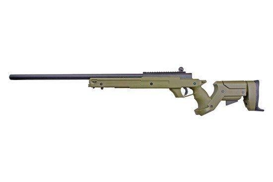 Страйкбольная винтовка снайперская MB04A-OLV [WELL] (для страйкбола), фото 2