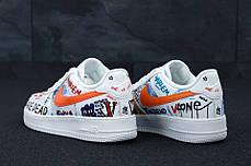 Женские кроссовки Pauly x Vlone Pop Nike Air Force, фото 3