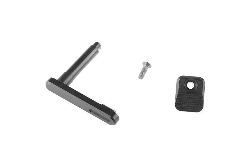 Zwalniacz magazynka CNC для реплик типа M4 (A) - black [RETRO ARMS]