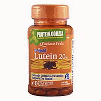 Лютеин Puritans pride Lutein 20 мг 60 кап.