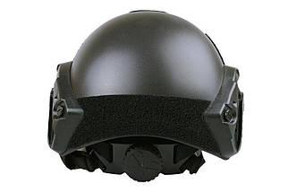 Реплика шлема X-Shield FAST MH - black [Ultimate Tactical] (для страйкбола), фото 3