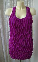 Платье женское нарядное туника лето стрейч River Island р.46-48