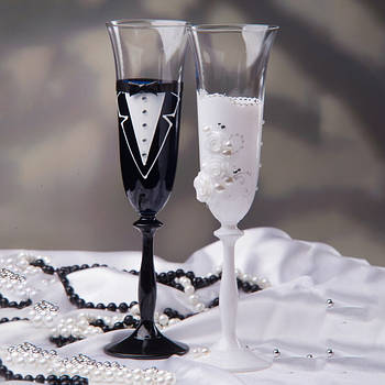 Свадебные бокалы BOHEMIA