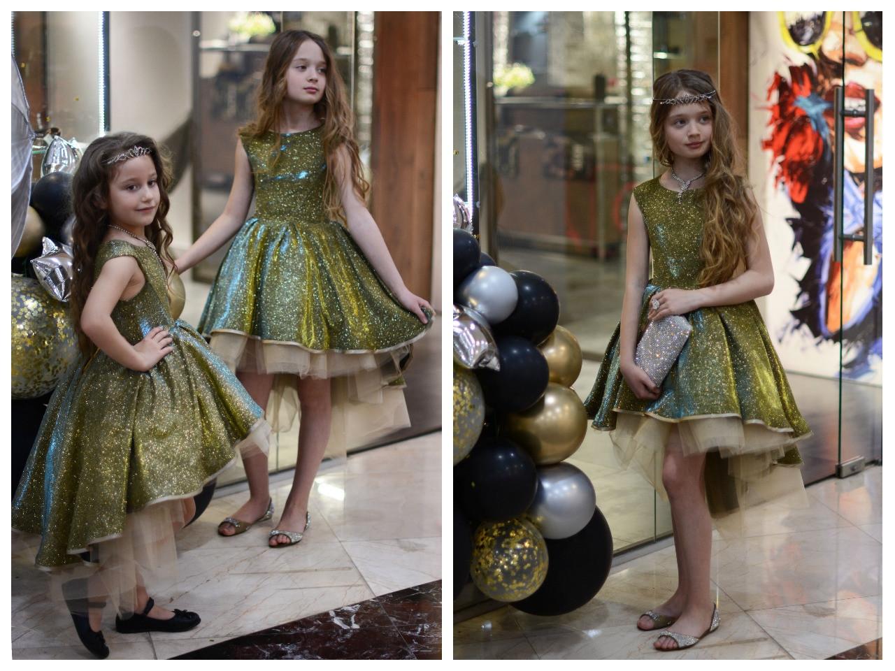 Нарядное платье на рост 110 - 146 см