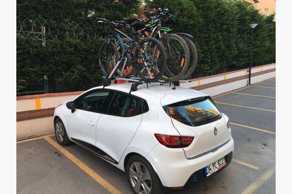 Крепление под велосипед Renault Clio IV 2012↗ гг.