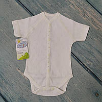 Боди короткий рукав для новорожденного (ажур), р. 56 ТМ Happy Tot
