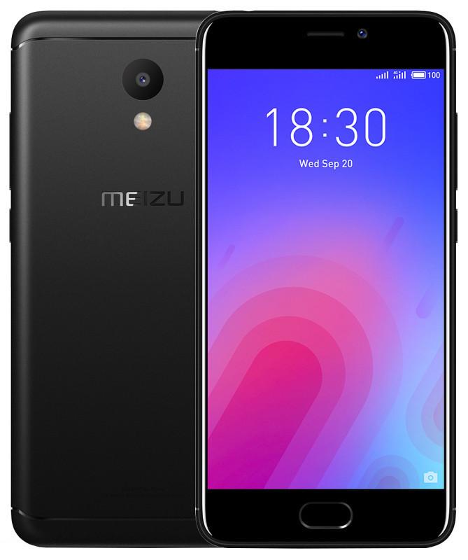 Сенсорный мобильный телефон Meizu M6 2/16 Black