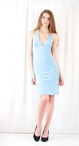 Модное красивое дешевое нарядное платье декольте открытая спинка камни сваровски.  Распродажа! Скидка 80%., фото 2