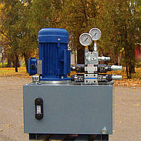 Маслостанция (гидросиловая установка) роторного манипулятора