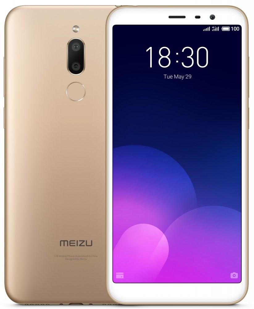 Сенсорный мобильный телефон Meizu M6T 3/32GB Gold